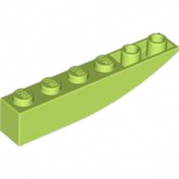 LEGO 4164035	BRICK 1X6 W/BOW, REV. - Bright Yellowish Green