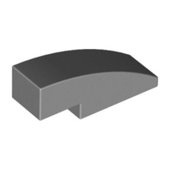 LEGO 4246896 BRICK W BOW 1-3 Dark Stone Grey