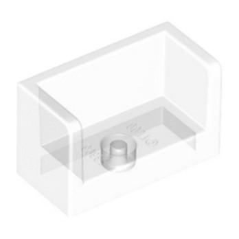 LEGO 6139647 - Cloisons 1X2X1- Transparent
