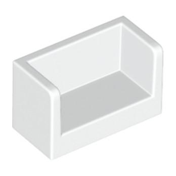 LEGO 6135529 - Cloisons 1X2X1- Blanc
