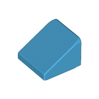 LEGO 6133838 TUILE 1X1X2/3 - DARK AZUR