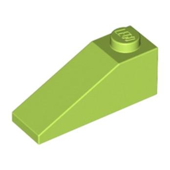 LEGO 6167466 - Tuiles 1X3/25° - Bright yellowish green