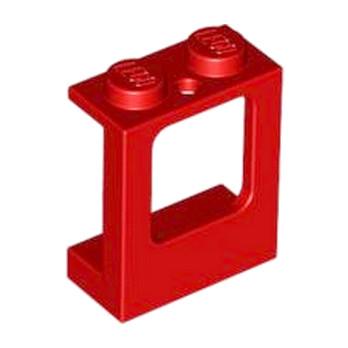 LEGO 4507686 Fenetre 1X2X2 - Rouge