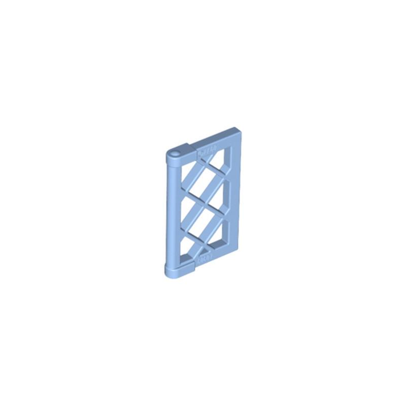 Lego 6147320 12 Grille Pour Fenetre 1x4x3 Medium Blue