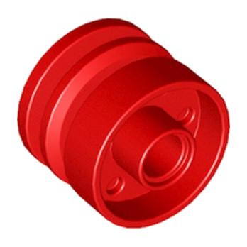LEGO 6109680 - Jante 18x14 W. HOLE Ø4.8 - ROUGE