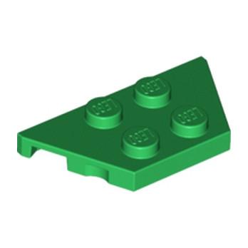 LEGO 6100220 PLATE 2X4X18° - Dark Green