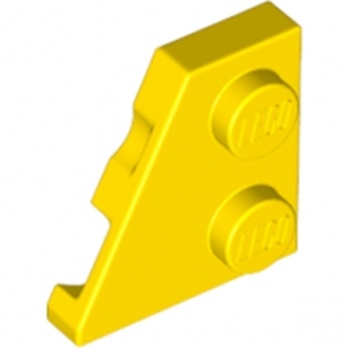 LEGO 6132609 - Plate 2x2 27DEG Gauche - Jaune