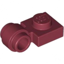 LEGO 4272614	LAMP HOLDER - New Dark Red