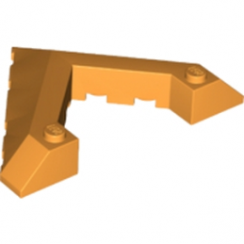 LEGO 6177926 ROOF TILE 8X6 45DEG W/CUT - ORANGE