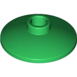 LEGO 474028  SATELLITE DISH Ø16 - Dark Green