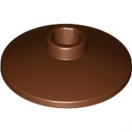 LEGO 4267996 SATELLITE DISH Ø16 - Reddish Brown