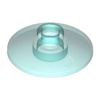 LEGO 4215339 SATELLITE DISH Ø16 - Bleu Transparent