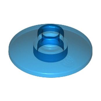 LEGO 6245293 PARABOLIC ELEMENT 2X2 Ø16 - TRANSPARENT DARK BLUE