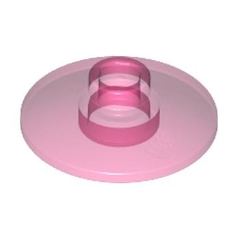 LEGO 4129859 SATELLITE DISH Ø16 - Rose Transparent