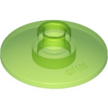 LEGO 6057005 SATELLITE DISH Ø16 - Vert Fluo Transparent