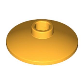 LEGO 6133925 - Parabole 2x2 Ø16 - FLAME. YELLOW-ORANGE