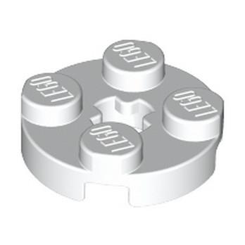 LEGO 403201 PLATE 2X2 ROND - BLANC lego-403201-plate-2x2-rond-blanc ici :