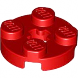 LEGO 403221 PLATE 2X2 ROND - ROUGE lego-403221-plate-2x2-rond-rouge ici :