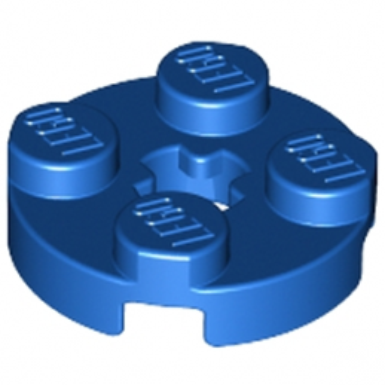 LEGO 403223PLATE 2X2 ROND - BLEU lego-403223-plate-2x2-rond-bleu ici :