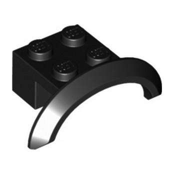 LEGO 4648117 GARDE BOUE  2X4X1 - NOIR lego-4648117-garde-boue-2x4x1-noir ici :