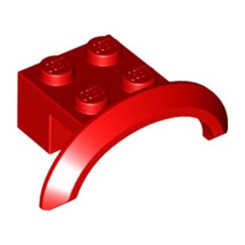 LEGO 6170507 GARDE BOUE  2X4X1 - ROUGE