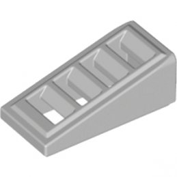 LEGO 6092111 GRILLE 1X2X2/3 - MEDIUM STONE GREY
