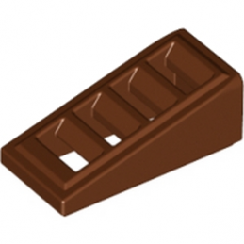 LEGO 6096670 GRILLE 1X2X2/3 - REDDISH BROWN lego-6214443-grille-1x2x23-reddish-brown ici :