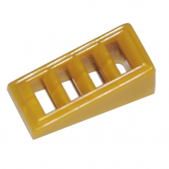 LEGO 6167584 GRILLE 1X2X2/3 - WARM GOLD