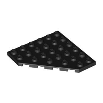 LEGO 610626 CORNER PLATE 6X6X45° - NOIR