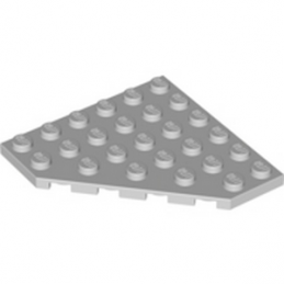 LEGO 4211520 CORNER PLATE 6X6X45° - MEDIUM STONE GREY