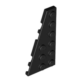 LEGO 4283047 LEFT PLATE 3X6 W ANGLE - NOIR