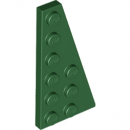 LEGO 6003994 	RIGHT PLATE 3X6 W. ANGLE - Earth Green