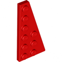 LEGO 6170832 RIGHT PLATE 3X6 W. ANGLE - ROUGE lego-6170832-right-plate-3x6-w-angle-rouge ici :