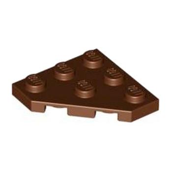 LEGO 6078090 PLATE 45 DEG. 3X3 - REDDIH BROWN lego-6078090-plate-45-deg-3x3-reddih-brown ici :