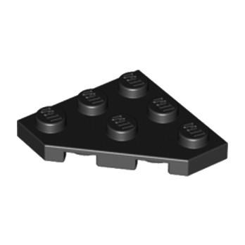 LEGO 245026  PLATE 45 DEG. 3X3 - NOIR