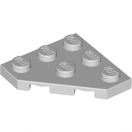 LEGO 4211361 PLATE 45 DEG. 3X3 - MEDIUM STONE GREY