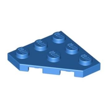 LEGO 245023  PLATE 45 DEG. 3X3 - BLEU lego-245023-plate-45-deg-3x3-bleu ici :