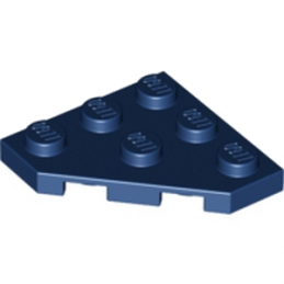LEGO 4255473 PLATE 45 DEG. 3X3 - EARTH BLUE