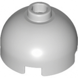 LEGO 4211637 BRIQUE RONDE DOME 2X2 - MEDIUM STONE GREY