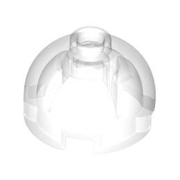 LEGO 6093059 FINAL BRICK 2X2 - Transparent lego-6264987-brique-ronde-dome-2x2-transparent ici :