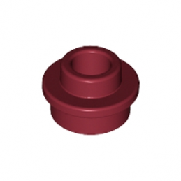 LEGO 6073031 Rond 1x1 Trou - New Dark Red