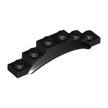 LEGO 4547625 GARDE BOUE 1X6X1 - NOIR