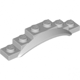 LEGO 4532589 GARDE BOUE 1X6X1 - Medium Stone Grey