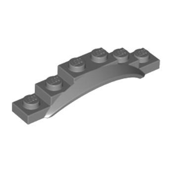 LEGO 6172286 GARDE BOUE 1X6X1 - Dark Stone Grey