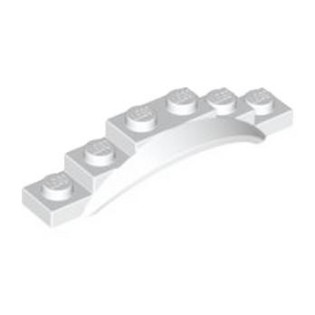 LEGO 4523556 GARDE BOUE 1X6X1 - BLANC