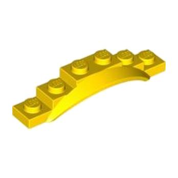 LEGO 4523558 GARDE BOUE 1X6X1- JAUNE