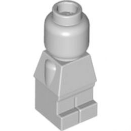 LEGO 4558465 MINI FIGURINE / STATUETTE - MEDIUM STONE GREY