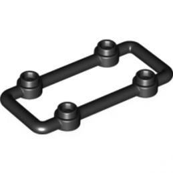 LEGO 6138603 - LATTICE 3X6 MODULE W/KNOBS - NOIR lego-6172984-pare-buffle-3x6-noir ici :
