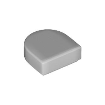 LEGO 6151688 - Plate Lisse 1x1 ½ Arrondie  - Médium Stone Grey