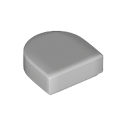 LEGO 6250597 PLATE LISSE 1x1 ½  - MEDIUM STONE GREY